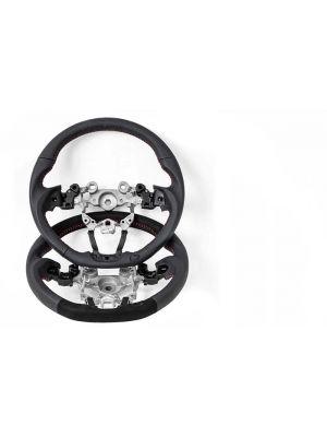 CorkSport Leather/Alcantara Steering Wheel - Mazda 3 MY17-18, CX-5 MY17+ & CX-3 MY18+