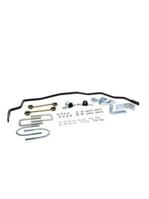Whiteline Rear Sway Bar - 18mm 3 Point Adjustable - Holden Colorado RC 2WD & 4WD MY08-12, Holden Rodeo RA MY03-08, Isuzu Rodeo TFR & TFS MY02-12 Isuzu D-Max TFR MY08-12