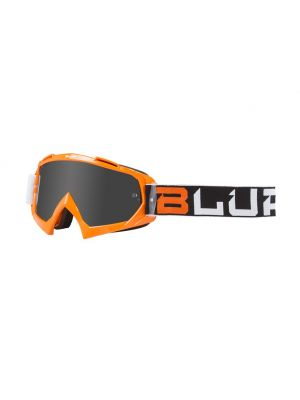 BLUR B-10 Adult Two Face Googles - Black/White/Orange