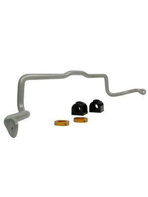Whiteline Front Sway Bar - 24mm Non Adjustable - Ford Focus LS, LT,  LV, LW & LZ MY05-18, Focus XR5  MY06-11, Mazda3 BK & BL MY04-14