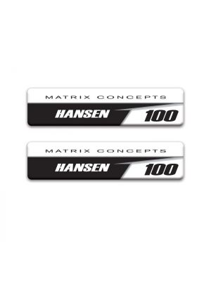 Matrix M1.5 Tiedown Custom ID Graphics - Evo