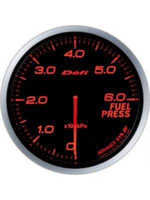 Defi Advance BF Amber Fuel Pressure Imperial 60mm Gauge