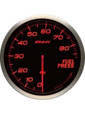 Defi Advance BF Amber Fuel Pressure Imperial PSI 60mm Gauge