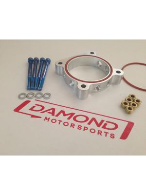 Damond Motorsports Throttle Body Spacer - Mazda MPS