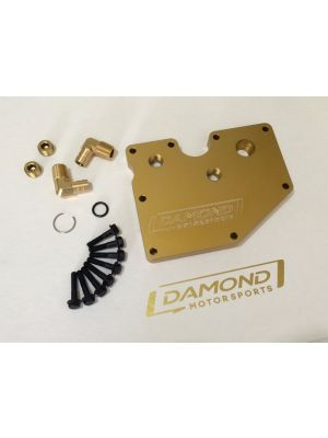 Damond Motorsports PCV Plate - Ford Focus ST / RS