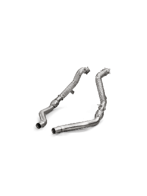 Akrapovic Downpipe/Linkpipe Set for Audi S6/S7/RS6/RS7 to suit Akrapovic Exhaust