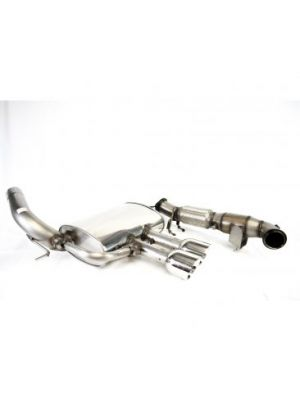 Dreamscience Full Turbo Back Exhaust with Race Cat - Ford  Focus ST250