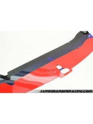 JBR Radiator Cover - Mazda 3 MPS Gen 2 BL MY10-13
