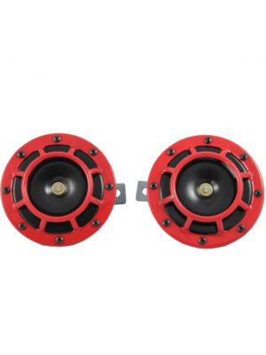 Hella Twin Supertone Horn Kit Pair- Red