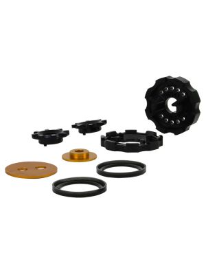 Whiteline Rear Diff Mount in Cradle & Support Outrigger Insert - Toyota 86 MY12-17
