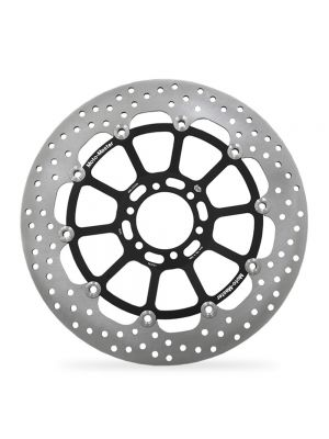 Moto-Master BMW Streetbike Right Front Halo Riveted Disc - HP2 1200 Megamoto (Standard Solution Rivet Pack) 2007-2008