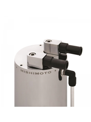 Mishimoto Aluminium Oil Catch Can - Large Polished - Universal