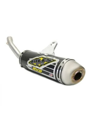 Bill's Pipes MX2 Carbon Fiber Silencer Yamaha YZ125 05-20