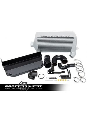 Process West Verti-Cooler System - Subaru WRX MY08-14 - Silver