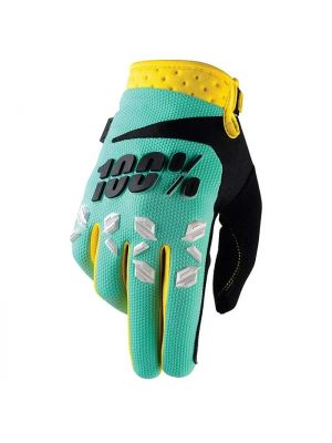 100% Airmatic Mint Gloves