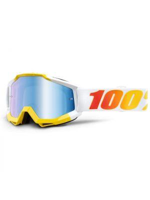 100% Accuri Goggle Astra Blue Mirror Lens