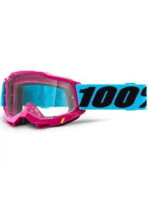 100% Accuri2 Goggle Lefleur Clear Lens