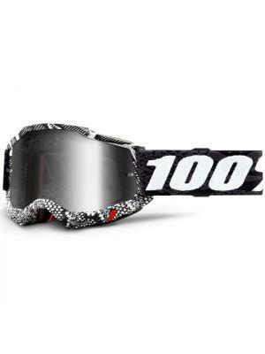 100% Accuri2 Goggle Cobra Mirror Silver Lens