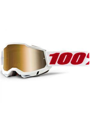 100% Accuri2 Goggle Denver True Gold Lens
