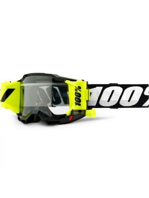 100% Accuri2 Forecast Goggle Black Clear Lens