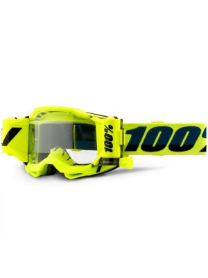 100% Accuri2 Forecast Goggle Yellow Clear Lens