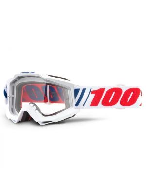 100% Accuri Youth Goggle AF066 Clear Lens
