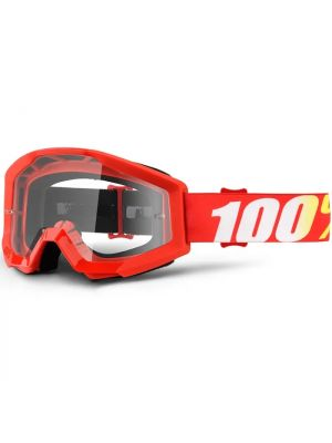 100% Strata Goggle Youth Furnace Clear Lens