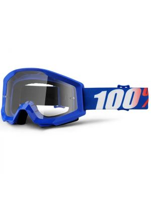 100% Strata Goggle Youth Nation Clear Lens