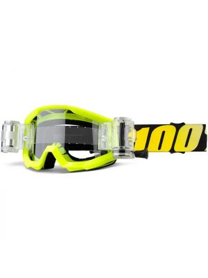 100% Strata SVS Youth Goggle Yellow