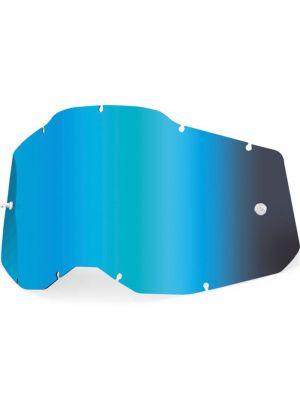 100% Accuri2 & Strata2 Youth Lens Mirror Blue