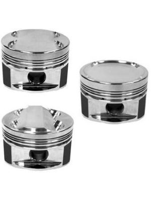Manley 94mm 87.5mm Standard Bore 9.5 CR Dish Type Platinum Series Pistons w/Rings - Mazda MPS