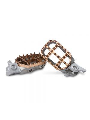 ProTaper 2.3 Platform Steel Footpeg Kit - Steel / Magnesium - Various KTM Husqvarna Mini
