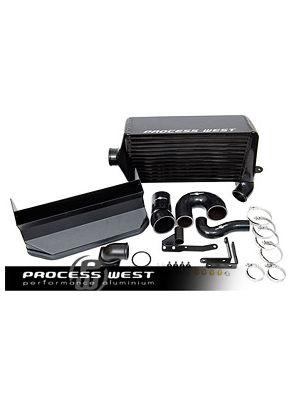 Process West Verti-Cooler System - Subaru WRX MY08-14 - Black