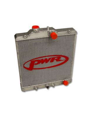 PWR Performance 42mm Radiator - Holden Astra SRI Turbo MY01-03