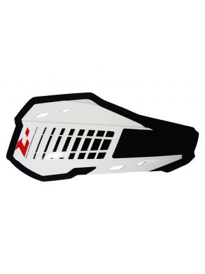 Rtech White HP2 Handguards - Includes Mounting Kit