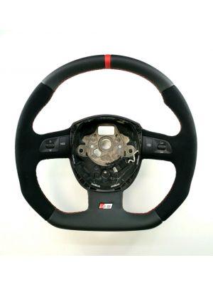 Reggies Custom Wheels - Flat Bottom Steering Wheels - Audi A5 / S5 / RS5