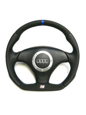 Reggie Steering Wheels -  Reshaped Flat Bottom Steering Wheel - Audi TT 8N0