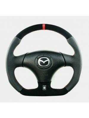Reggies Custom Wheels - Full Reshaped Flat Bottom Steering Wheel MAZDA RX-7 RX7 FD3S