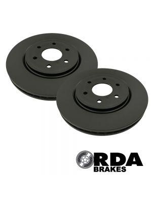 RDA Standard Replacement Rotors Front Pair - Toyota Rav4 Edge AXAA54/R 2.5L AWD MY19+ / Camry AXVH71/R 2.5L Elec/Petrol FWS MY17+