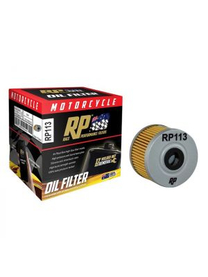 Race Performance Motorcycle Oil Filter - RP113