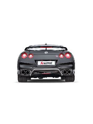 Akrapovic Evolution Race Line (Titanium) - Nissan GTR with Downpipe for stock turbochargers