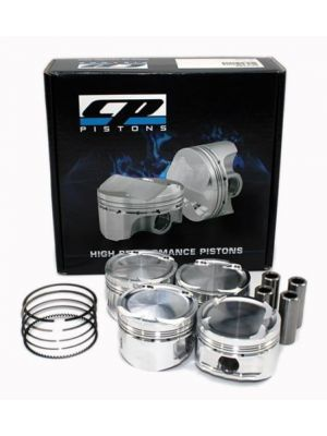 CP Piston & Ring Set - Bore 81.0mm - Size (STD) - Compression Ratio 9.0 - Set of 4 - Honda Civic MY06+ R18