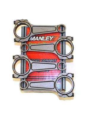 Manley Turbo Tuff Pro Series I Beam Connecting Rod Set - Mazda MPS