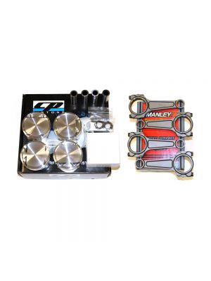 CP Pistons and Manley Turbo Tuff I Beam Rod Package - Mazda MPS