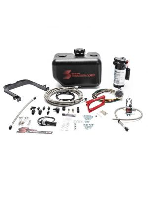 Snow Performance Stage 2.5 Boost Cooler Ford Mustang GT 4.6L MY05-10 Forced Induction Water-Methanol Injection Kit with Stainless Steel Braided Lines