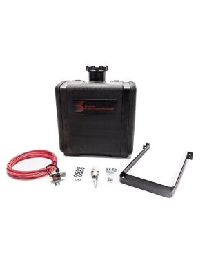 Snow Performance 7 Gal. (26.5L) Water-Methanol Tank Upgrade Quick-Connect Fittings (W/Brackets, Solenoid, Hose & All Necessary Fittings)