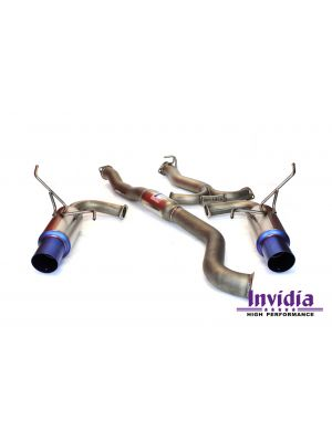 Invidia G5 Titan Titanium Cat Back Exhaust - Subaru WRX MY09-14 Sedan / MY11-14 STI Sedan