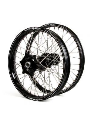 Talon / Excel A60 SNR MX Black Rims / Black Hubs Wheel Set - Honda