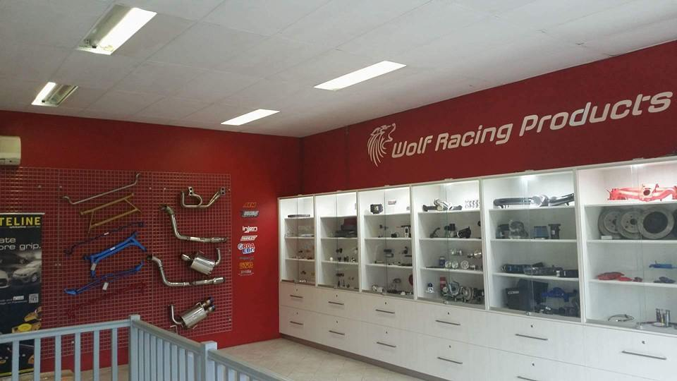 Wolf Racing Products Showroom